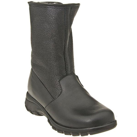 Toe Warmers Shield Waterproof Boot in Black at Mar-Lou Shoes