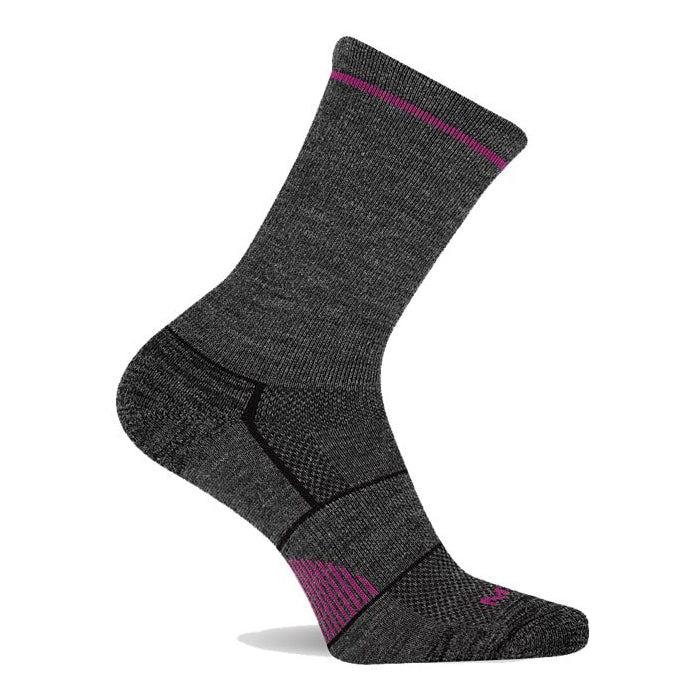 Merrell Unisex Lightweight Hiker Crew Sock Purple | Mar-Lou Shoes