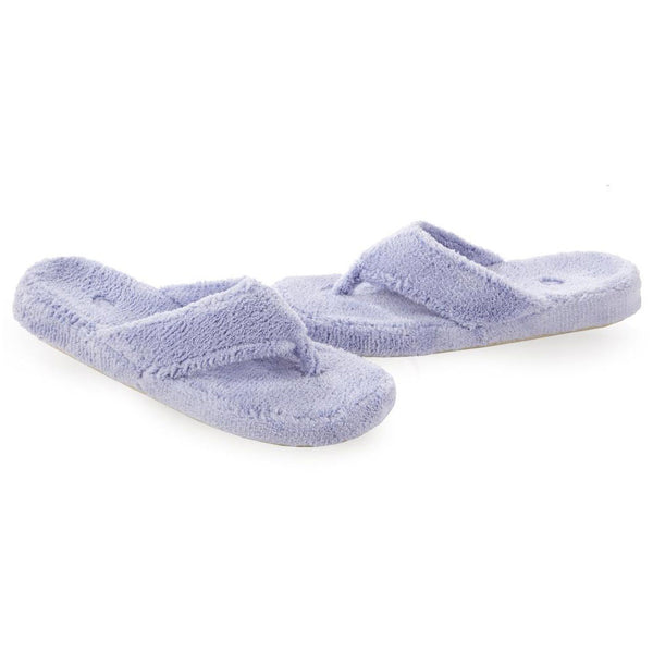 Women's Spa Thong Slippers Periwinkle | Mar-Lou Shoes