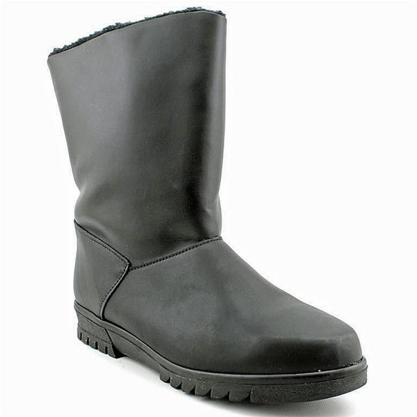Toe Warmers Summit Waterproof Boot in Black Leather at Mar-Lou Shoes