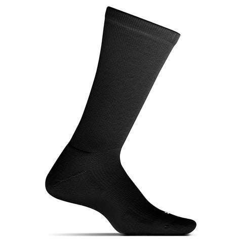 Unisex Therapeutic Cushion Crew Socks in Black