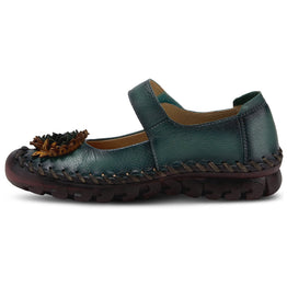 Spring Step Women's Hibiscae Mary Jane Teal | Mar-Lou Shoes