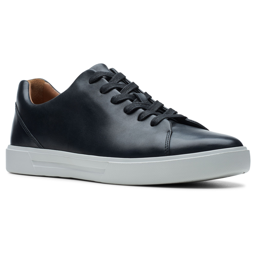 Clarks Un Costa Lace in Black Leather at Mar-Lou Shoes