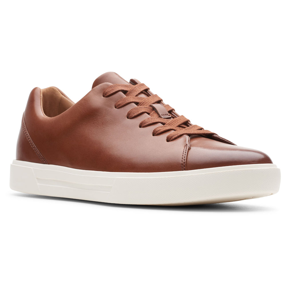 Clarks Un Costa Lace in Tan Leather at Mar-Lou Shoes