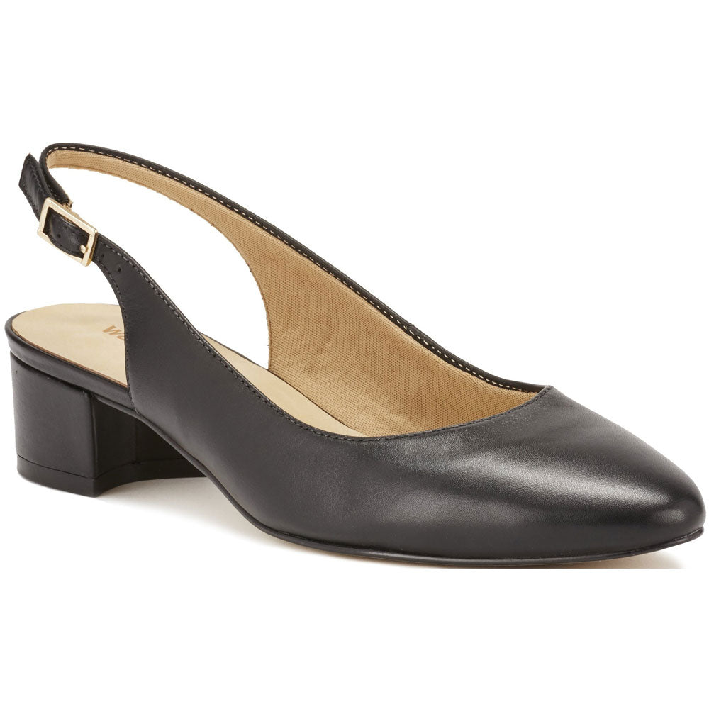 Hazel in Black Patent