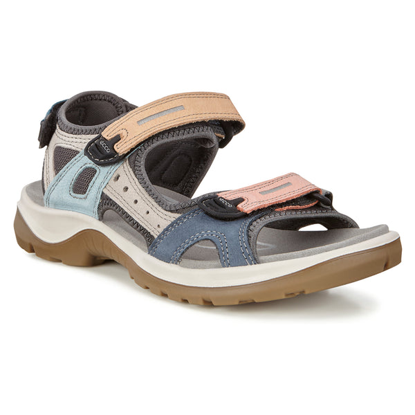 Ecco Women's Offroad Yucatan Sandal in Multicolor at Mar-Lou Shoes