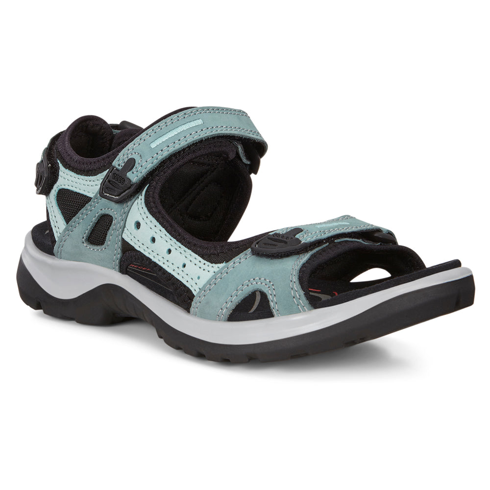 Ecco Women's Yucatan Sandal in Trellis Blue at Mar-Lou Shoes