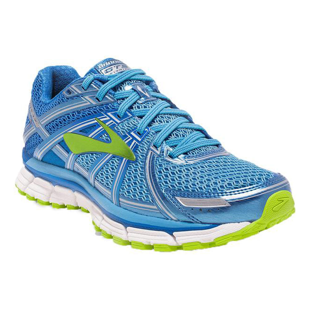 8822335d139 Adrenaline GTS 17 Running Shoe in Blue and Lime – Mar-Lou Shoes