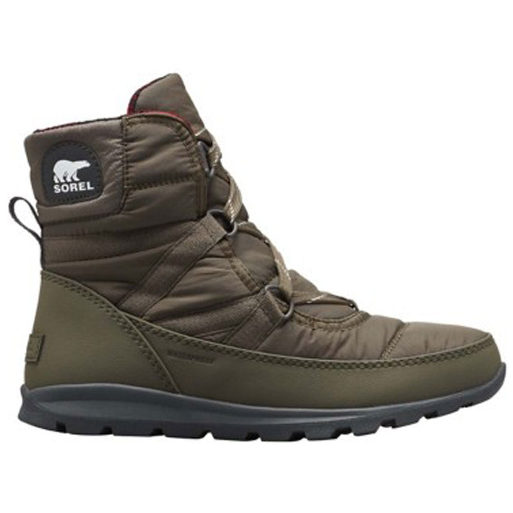 Sorel Whitney Short Lace Boot in Waterproof Alpine Tundra  at Mar-Lou Shoes