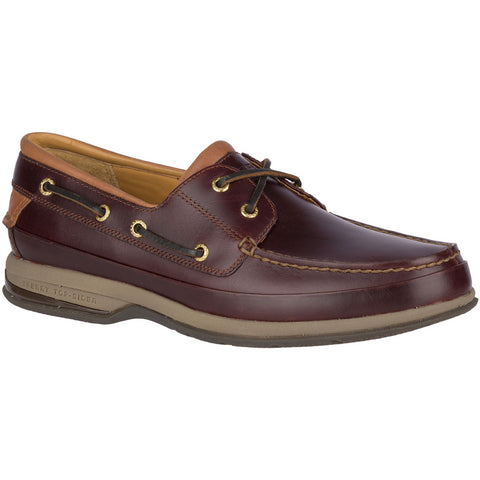 Gold Cup ASV 2-Eye Boat Shoe in Amaretto