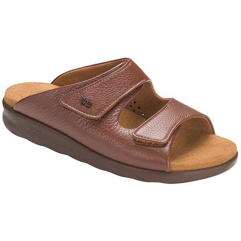 SAS Cozy Sandal in Amber at Mar-Lou Shoes
