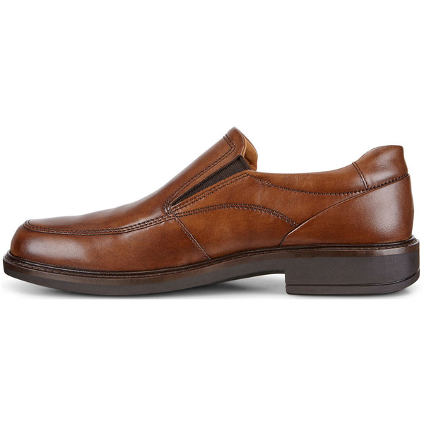 ECCO Holton Apron Toe Slip-On in Amber Leather at Mar-Lou Shoes