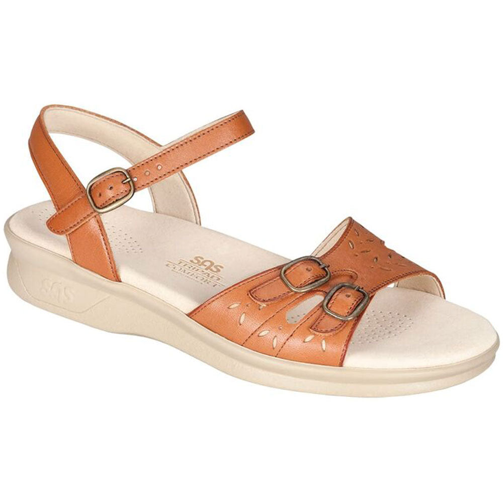 SAS Duo Sandal in Antique Leather at Mar-Lou Shoes