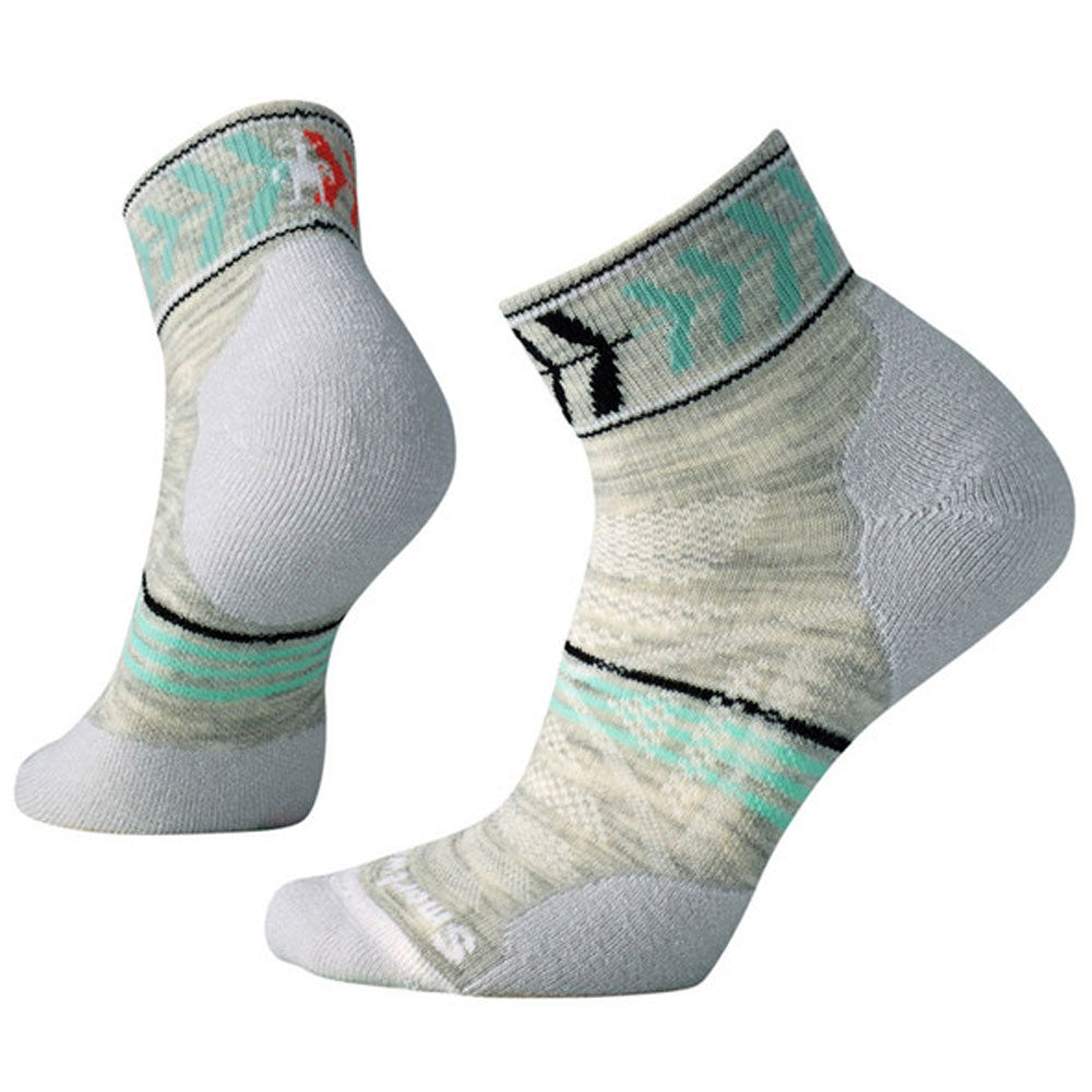 Women's PhD® Outdoor Light Pattern Mini Socks in Ash