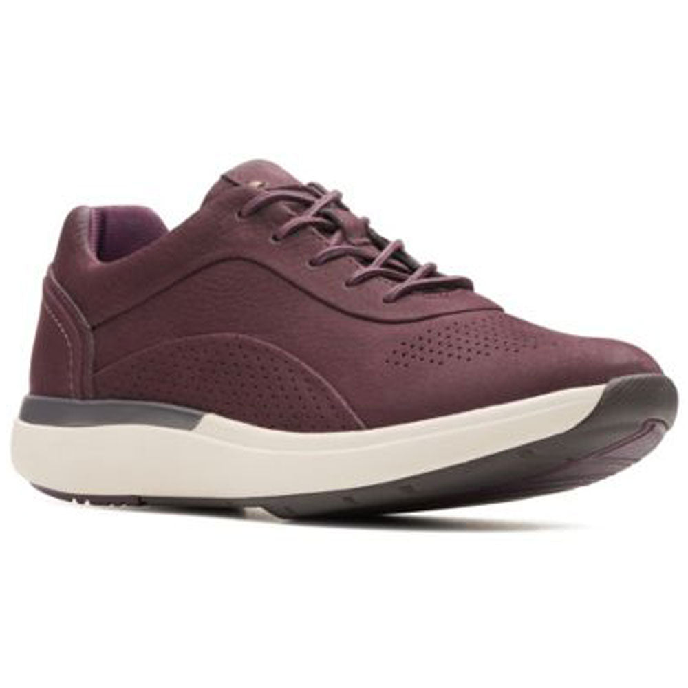Un Cruise Lace in Aubergine Nubuck