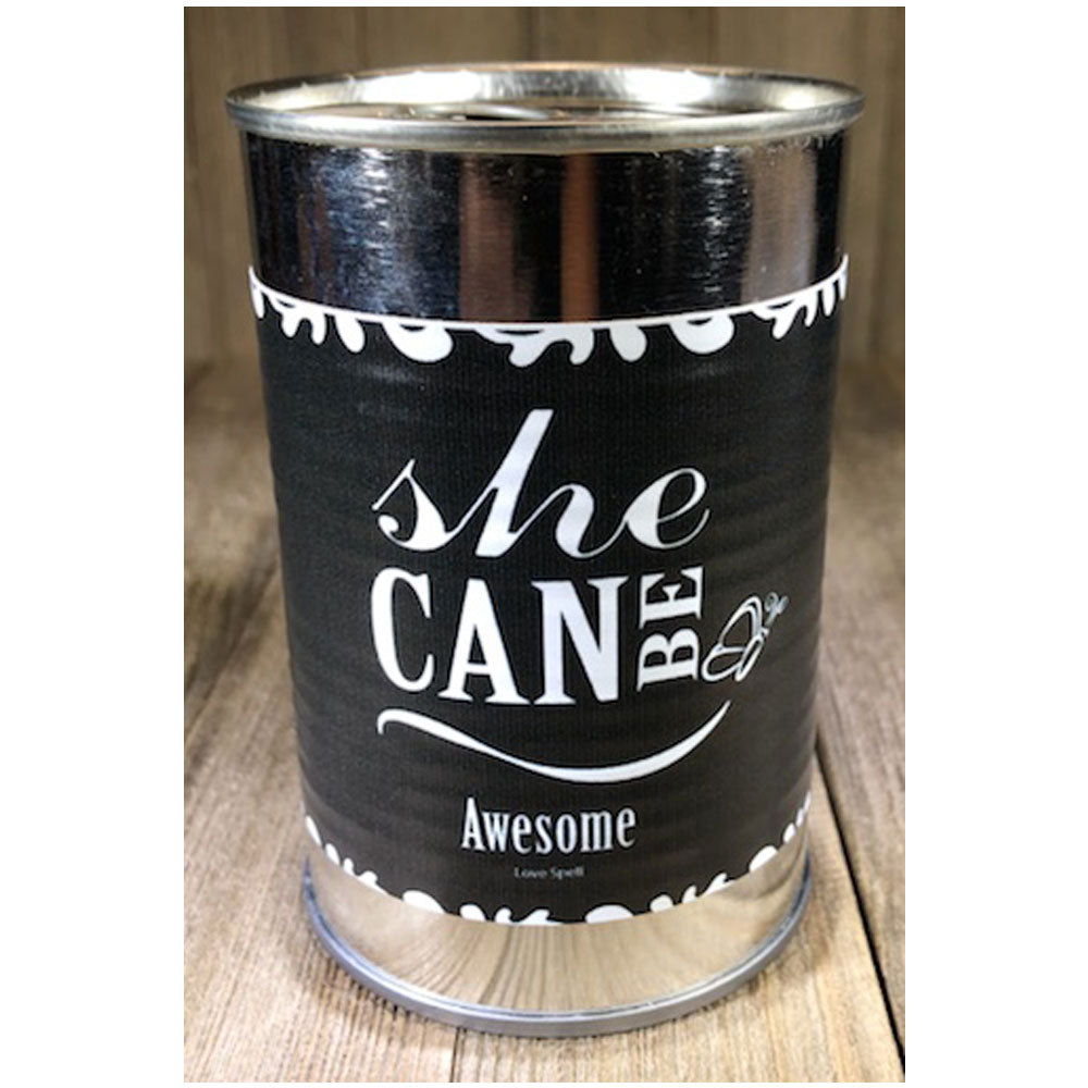 SheCan Be Awesome Candle in Love Spell Scents