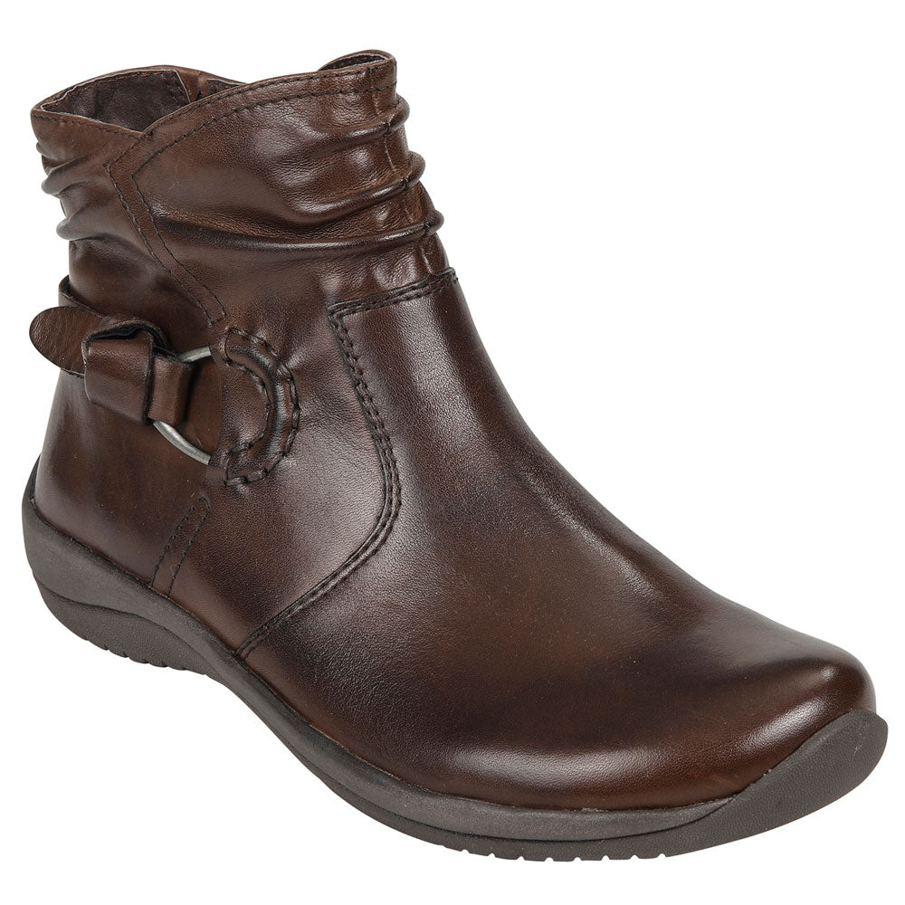Watson Bootie in Bark Leather