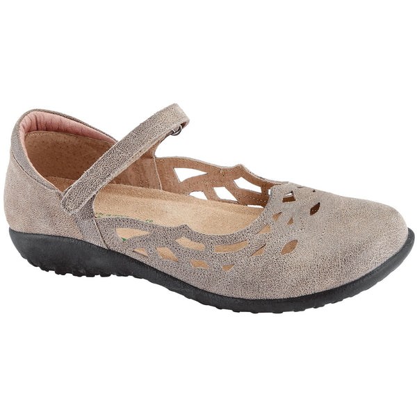 Naot Agathis in Speckled Beige Leather at Mar-Lou Shoes