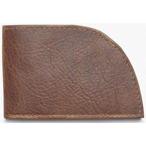 Rogue Front Pocket Wallet in Brown Bison at Mar-Lou Shoes
