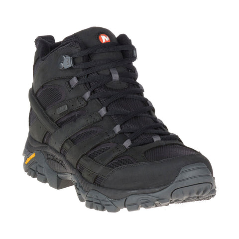 Moab 2 MOTHER OF ALL BOOTS™ Smooth Mid Waterproof in Black