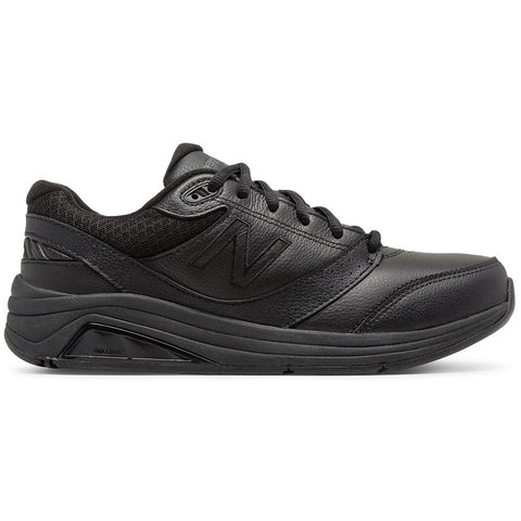 New Balance Women's 928v3 in Black Leather at Mar-Lou Shoes