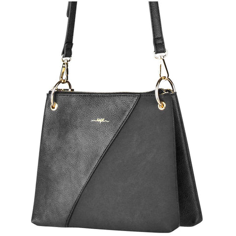 Espe Carrie Crossbody Purse in Black at Mar-Lou Shoes