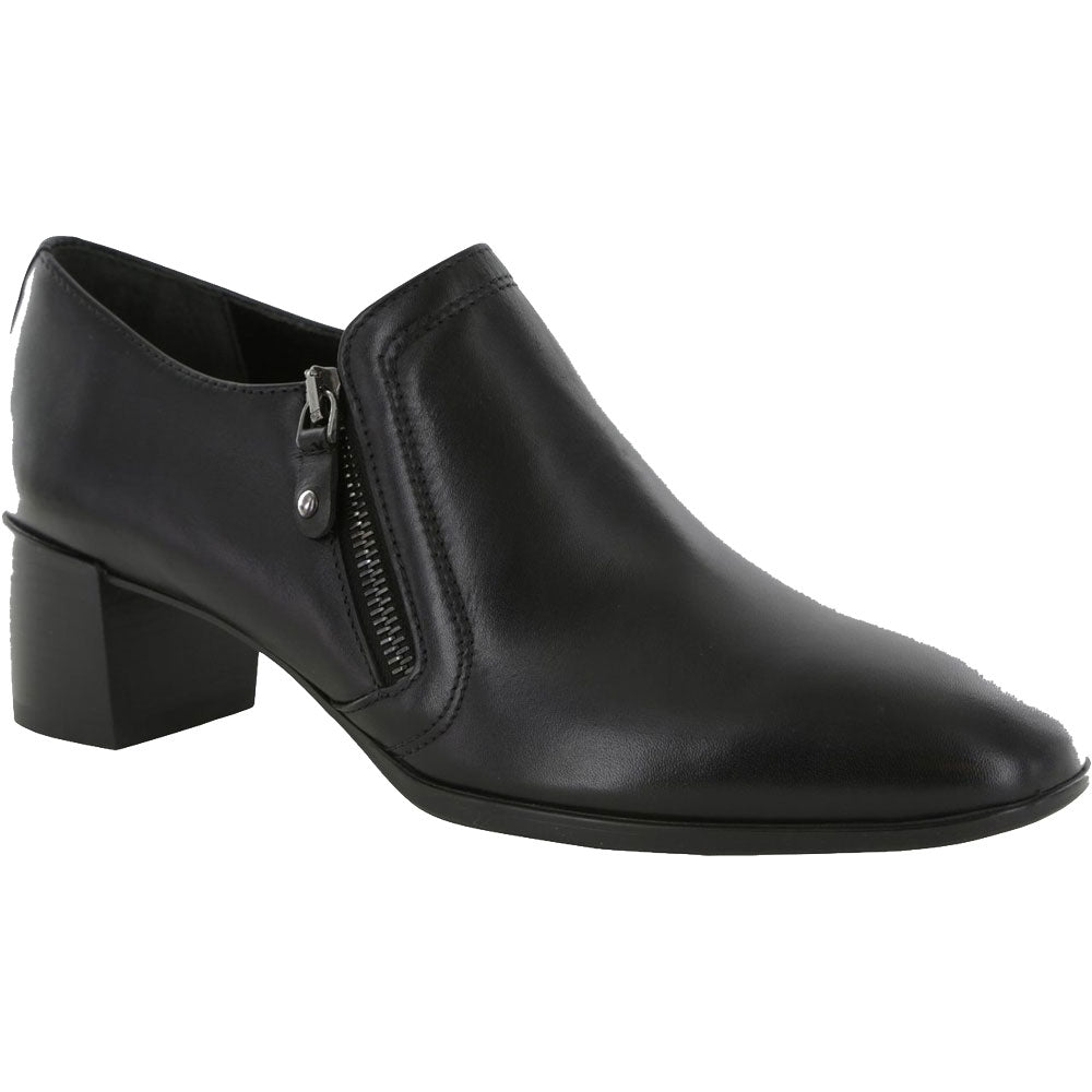 Annee Shoe Bootie in Black Suede