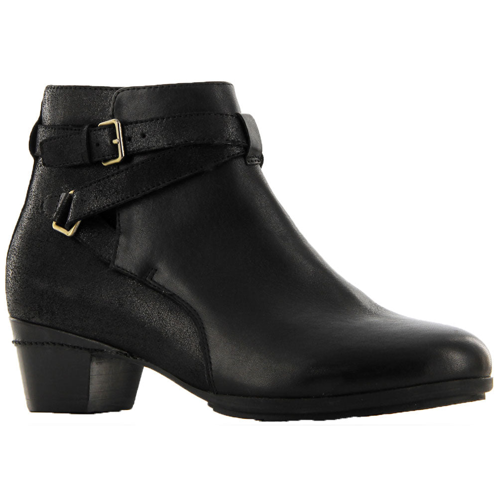 Ziera Cameo Boot in Black/Passion Leather at Mar-Lou Shoes