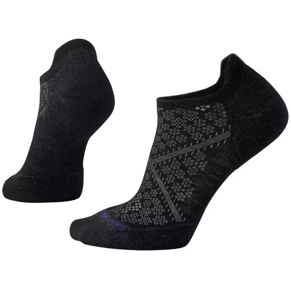 Smartwool Women's PhD® Run Light Elite Micro Socks in Black at Mar-Lou Shoes