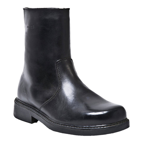 Mickey Waterproof Boot in Black Leather