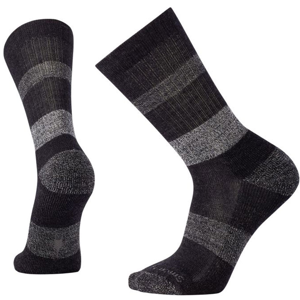 Men's Barnsley Crew Socks in Black