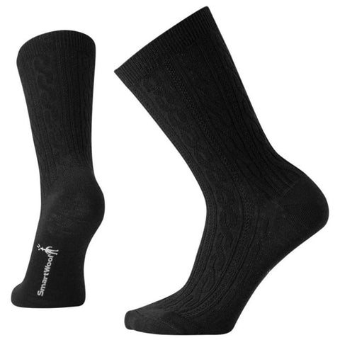 Cable II Socks in Black