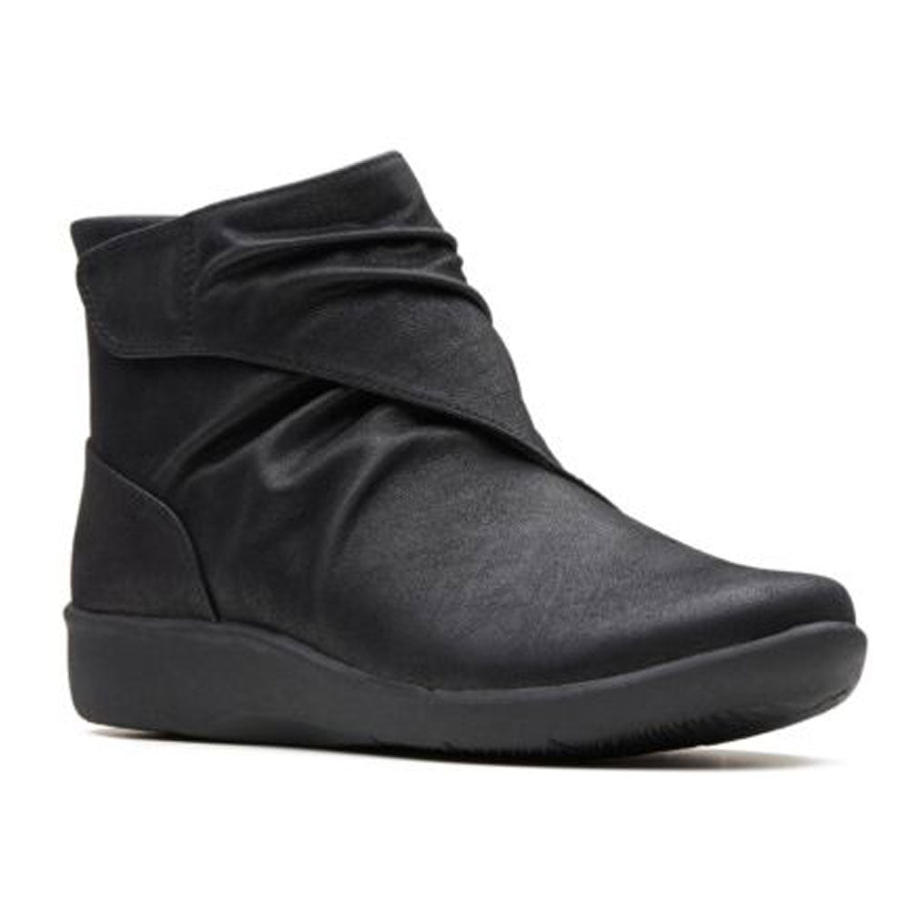 Sillian Tana Boots in Black Synthetic Nubuck
