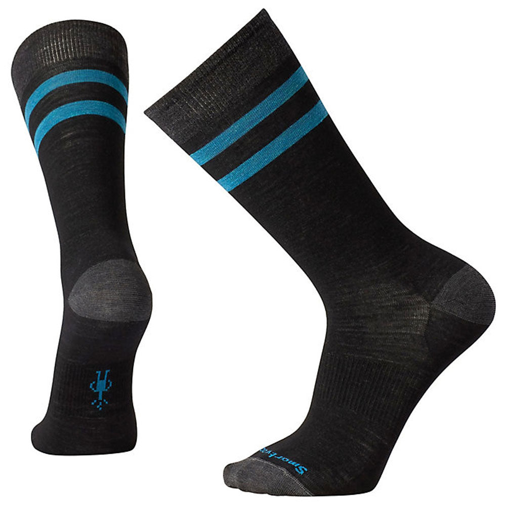 Erving Crew Socks in Black