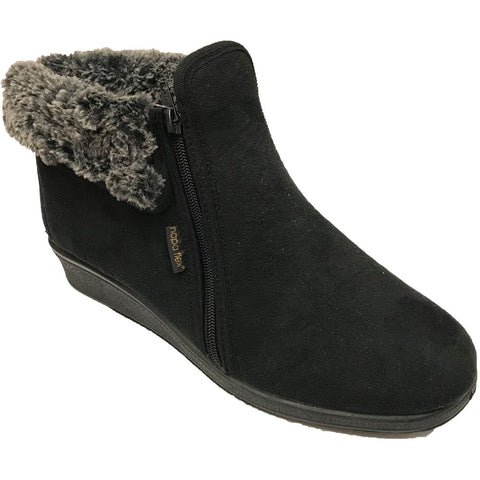 Cuff Nova Sue Boot in Black