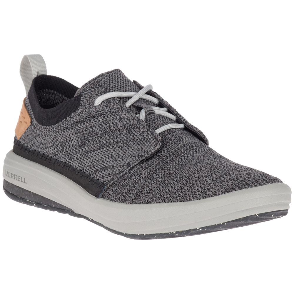 Merrell Men's Gridway Lace Up in Black at Mar-Lou Shoes