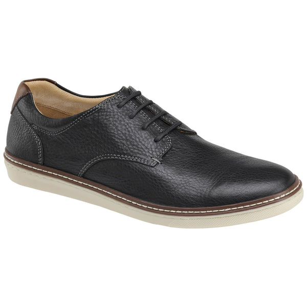 McGuffey Plain Toe Oxford in Black Leather