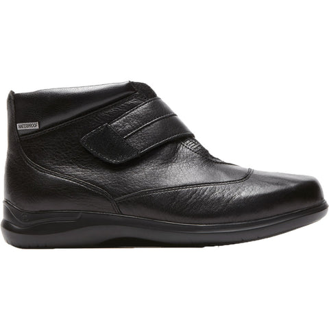 Aravon Florinda Waterproof Bootie in Black at Mar-Lou Shoes