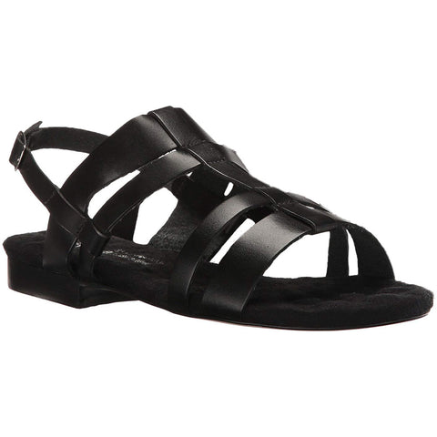 Frisky Sandal in Black Leather