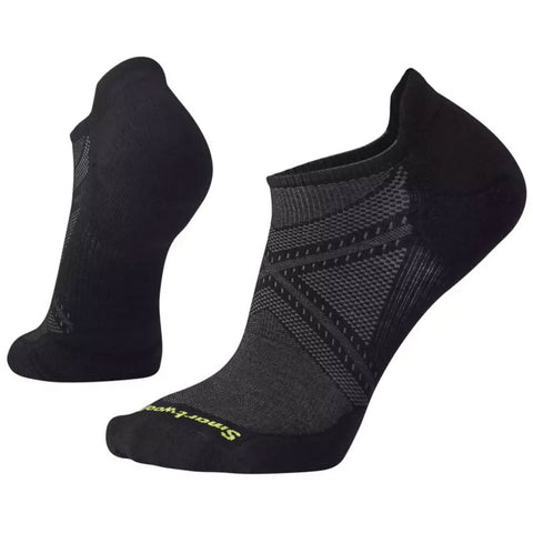Smartwool Men's PhD® Run Light Elite Micro Socks in Black at Mar-Lou Shoes