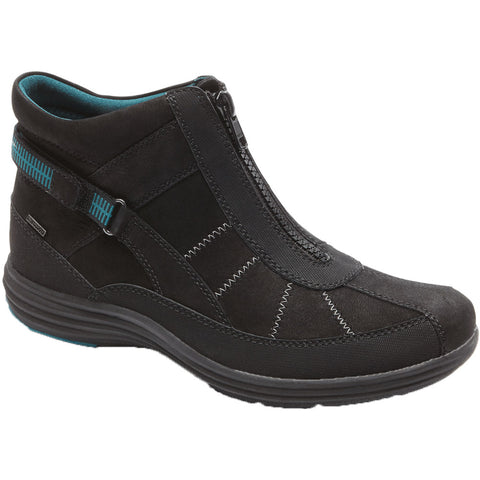 Aravon Beverly Waterproof Bootie in Black at Mar-Lou Shoes