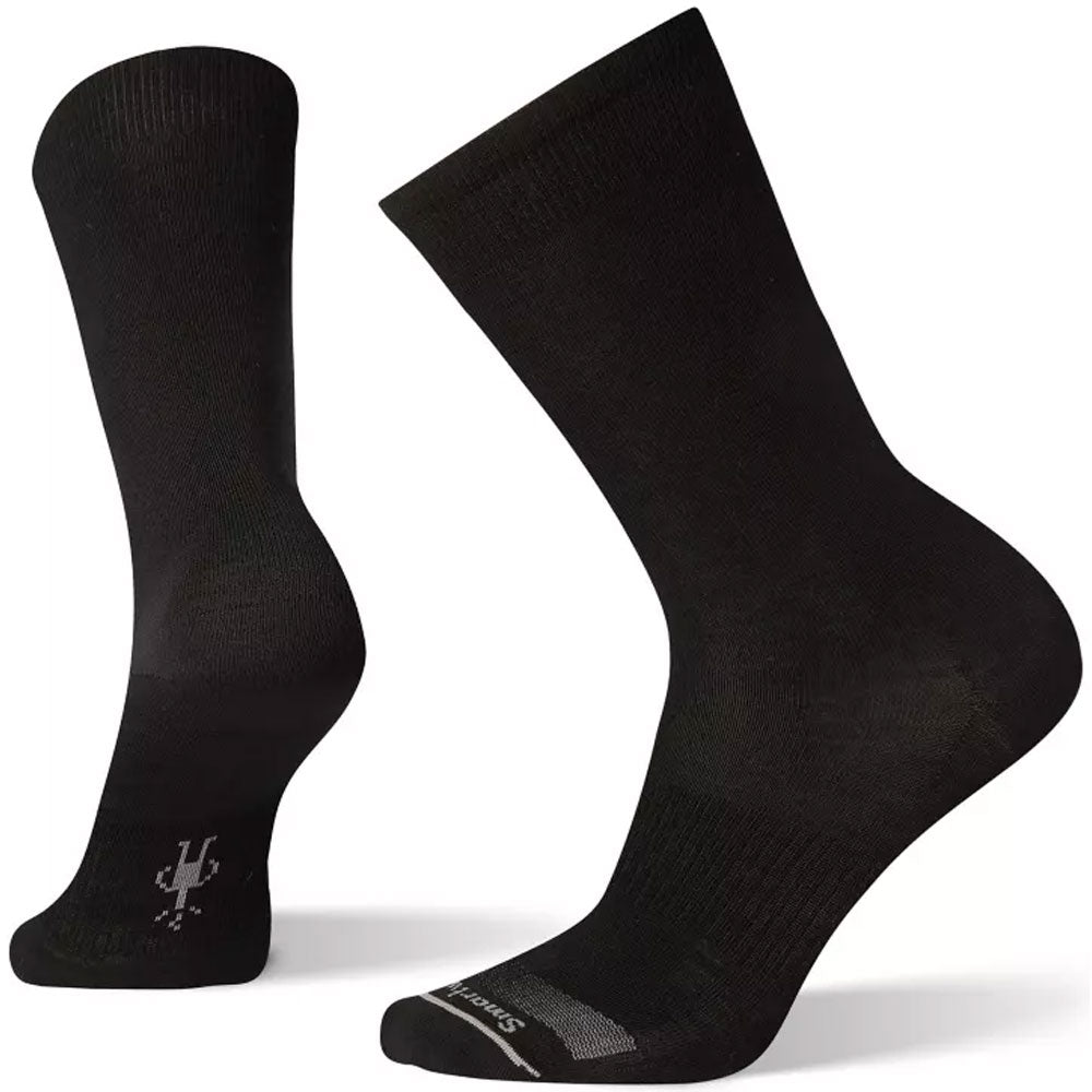 Smartwool Anchor Line Socks in Black at Mar-Lou Shoes