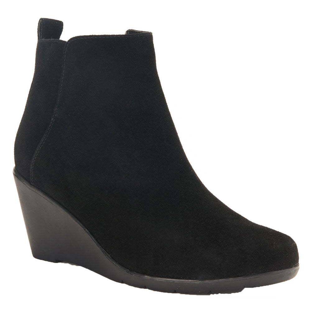 Vor Waterproof Bootie in Black Suede