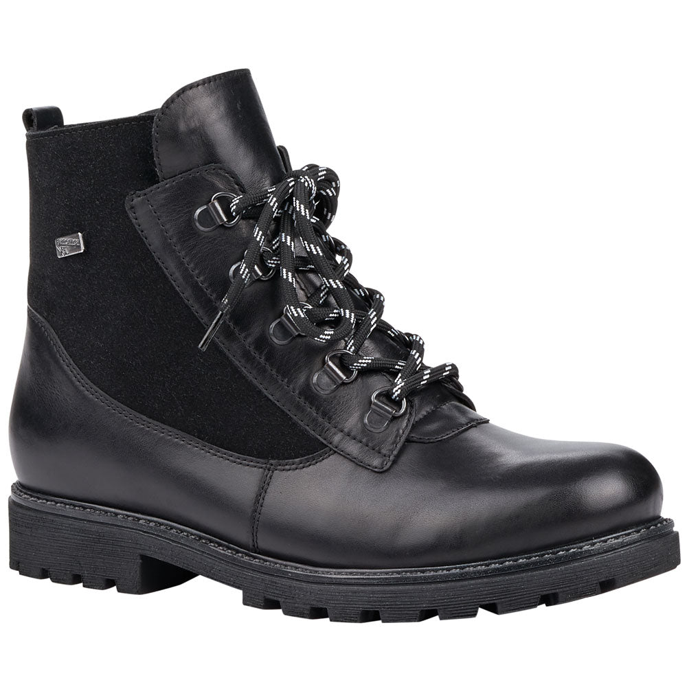 D7461 Boot in Black Leather
