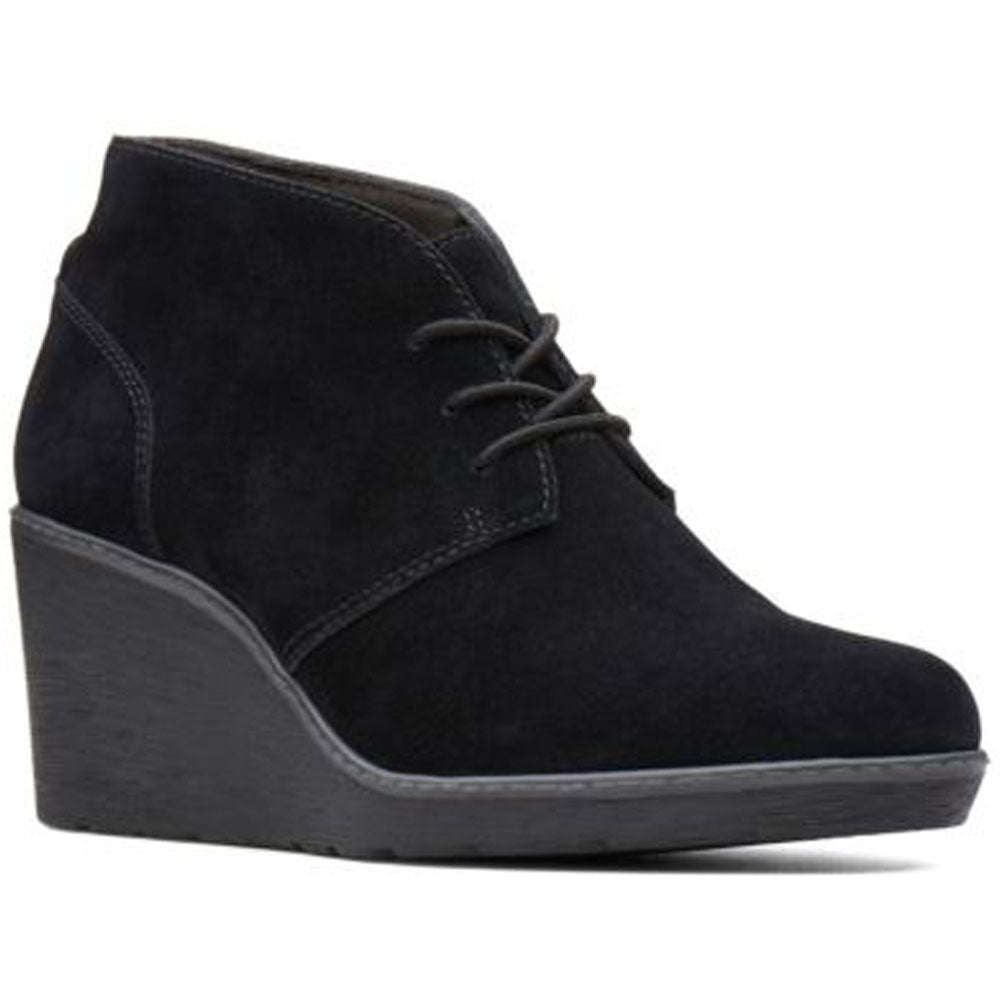 Hazen Charm in Black Suede