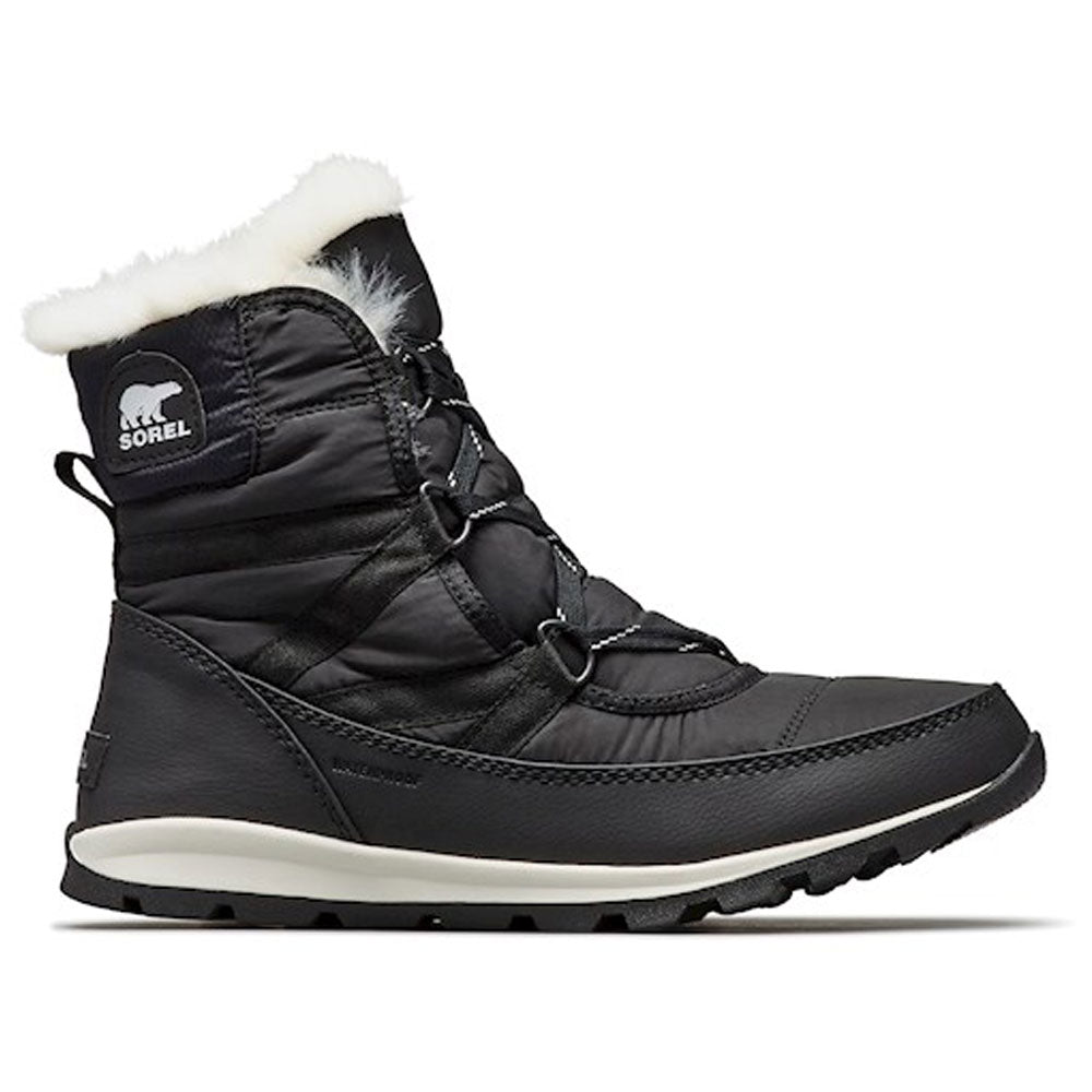 Sorel Whitney Lace Waterproof Boot in Black at Mar-Lou Shoes