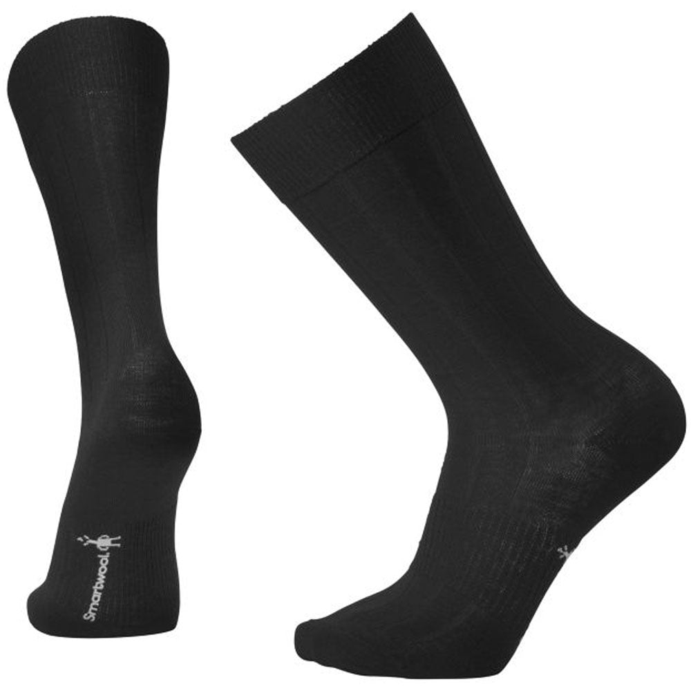 Men's City Slicker Crew Socks in Black