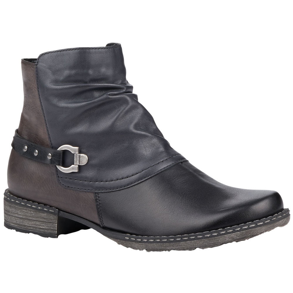 D4359 Boot in Black/Lake Leather