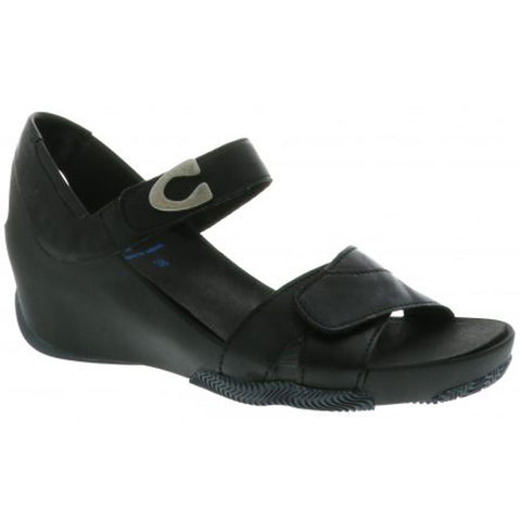 Epoch Sandal in Black Biocare Venus