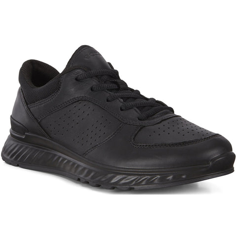 ECCO Exostride W in Black Cirrus Leather at Mar-Lou Shoes